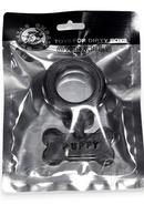 Puppy Silicone Cockring Black